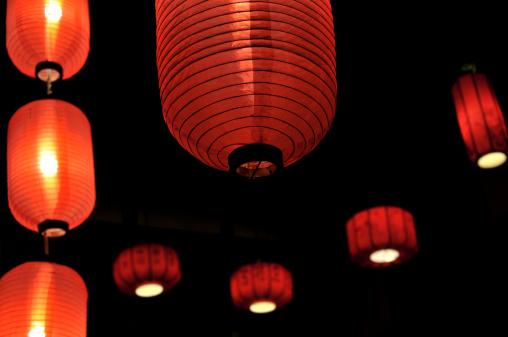 Chinese Lantern Festival「Chinese lanterns」:スマホ壁紙(19)