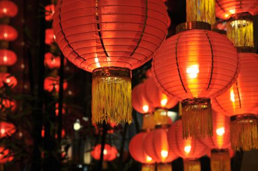 Chinese Lantern「Chinese lanterns」:スマホ壁紙(18)