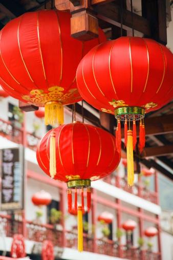 Chinese Lantern「Chinese lanterns」:スマホ壁紙(16)