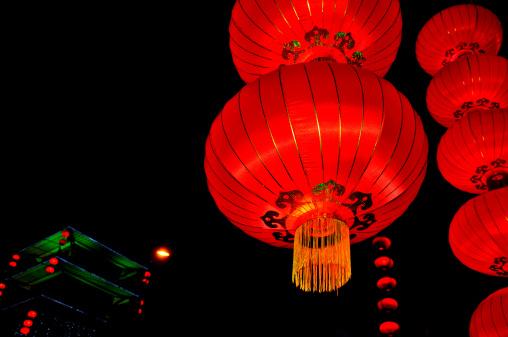 Chinese Lantern「Chinese lanterns」:スマホ壁紙(4)