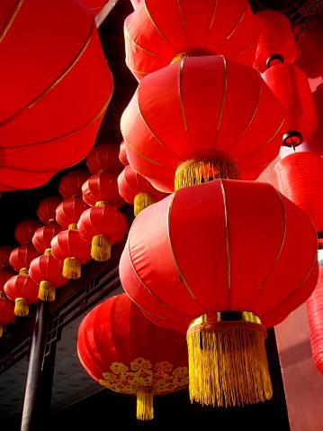 Chinese Lantern「Chinese lanterns」:スマホ壁紙(9)