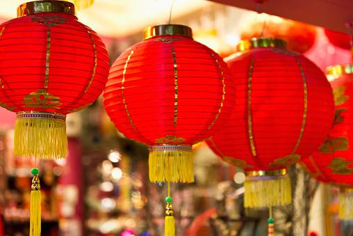 Chinese Lantern「Chinese Lanterns, Central Market, Kuala Lumpur, Malaysia」:スマホ壁紙(0)