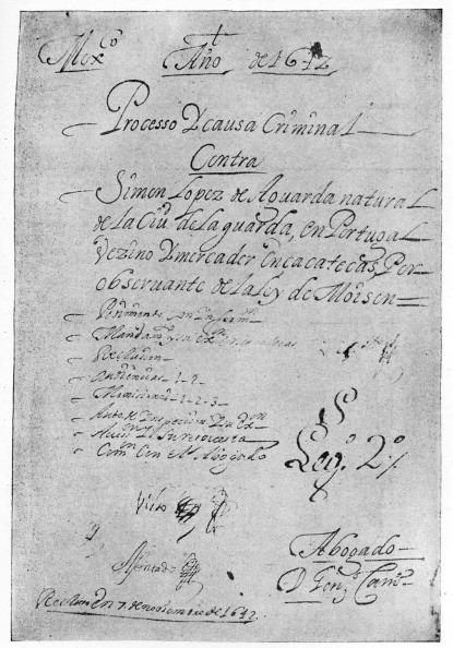 Manuscript「Inquisition of Mexico against Simon Lopez  1642,」:写真・画像(0)[壁紙.com]