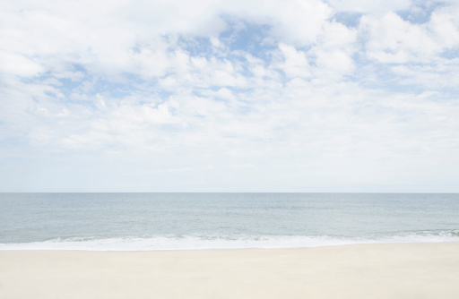 cloud「Seascape, Nantucket, Massachusetts, New England, USA」:スマホ壁紙(2)