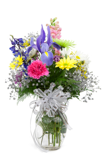カーネーション「花瓶の花」:スマホ壁紙(12)