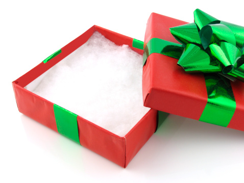Gift「Empty Christmas Gift Box」:スマホ壁紙(8)