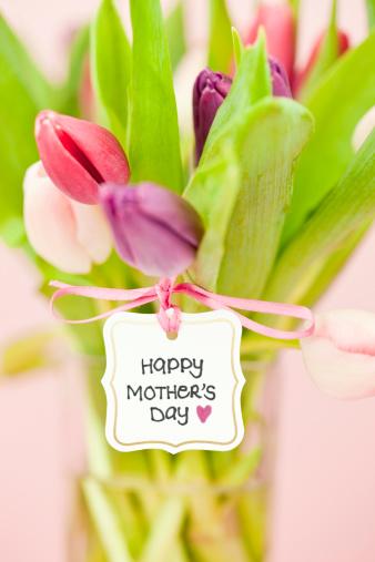 母の日「母の日のブーケ」:スマホ壁紙(13)