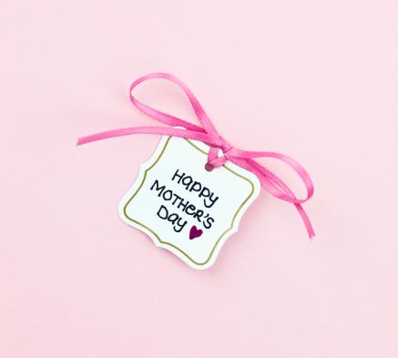 母の日「母の日のギフトタグ」:スマホ壁紙(9)
