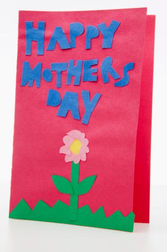 母の日「Mother's Day card」:スマホ壁紙(1)