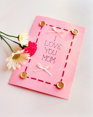 母の日「Mother's Day Card」:スマホ壁紙(18)