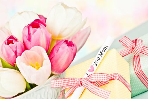 母の日「母の日や誕生日のブーケ、ギフト」:スマホ壁紙(17)