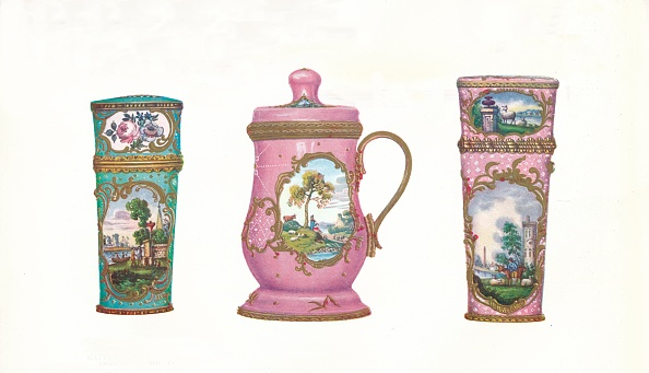 Intricacy「'Battersea Enamels In The James Ward Usher Collection', 1911」:写真・画像(9)[壁紙.com]