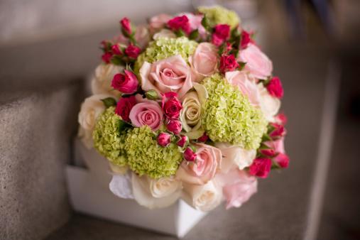 ブーケ「Bridal flower bouquet」:スマホ壁紙(14)