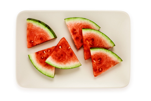 スイカ「Plate of watermelon wedges」:スマホ壁紙(10)