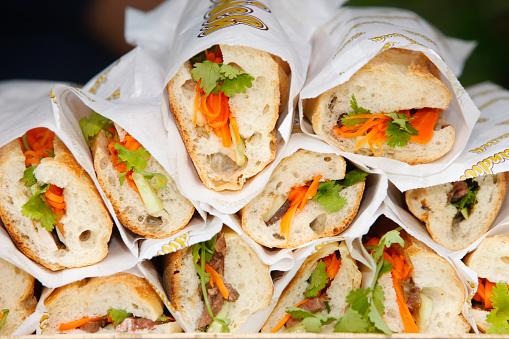 Vietnamese Cuisine「Banh mi sandwiches」:スマホ壁紙(12)