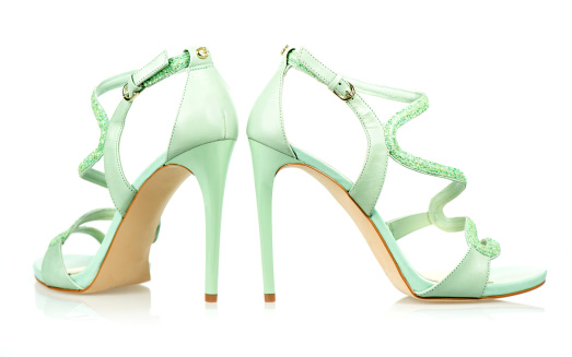 Fashion「Elegant High Heels sandals in mint green」:スマホ壁紙(18)
