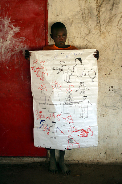 Drawing - Activity「Sudanese Children Displaced By War Record Their Experiences」:写真・画像(19)[壁紙.com]