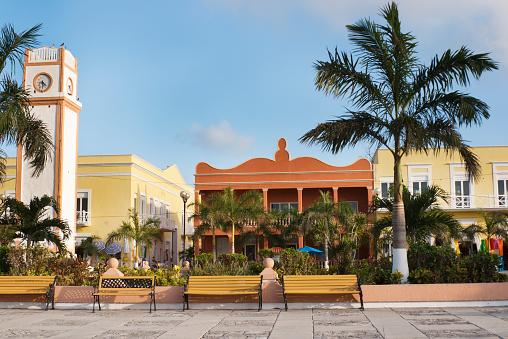 Cruise - Vacation「San Miguel Plaza del Sol Clock Tower, Cozumel, Yucatan, Mexico」:スマホ壁紙(19)