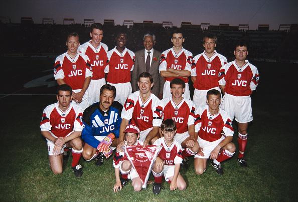 Sports Team「Nelson Mandela and Arsenal South Africa 1993」:写真・画像(2)[壁紙.com]