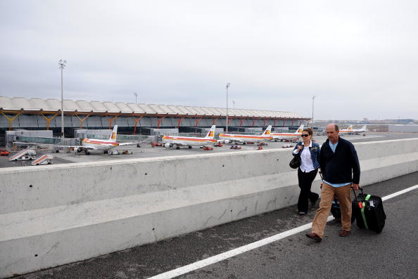 Madrid「Taxi Drivers Blockade Madrid Airport」:写真・画像(15)[壁紙.com]