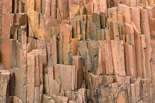 Basalt「Africa, Namibia, Kunene Province, Damaraland, basalt rock formation at Twyfelfontein, organ pipes」:スマホ壁紙(19)