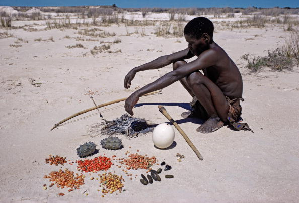 Side Lit「Bushman Or San With His Foods」:写真・画像(5)[壁紙.com]