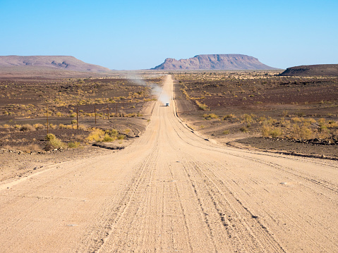 Accidents and Disasters「Africa, Namibia, gravel road, C12 road」:スマホ壁紙(8)