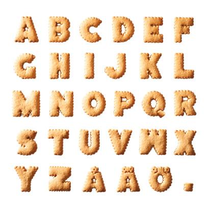 Alphabet「Cookie Aphabet」:スマホ壁紙(17)