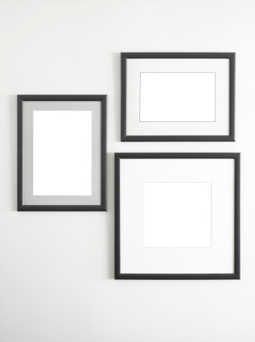 Black Color「photo or picture frames」:スマホ壁紙(13)