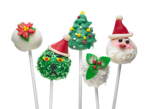 クリスマスケーキ「クリスマスケーキポップ」:スマホ壁紙(3)
