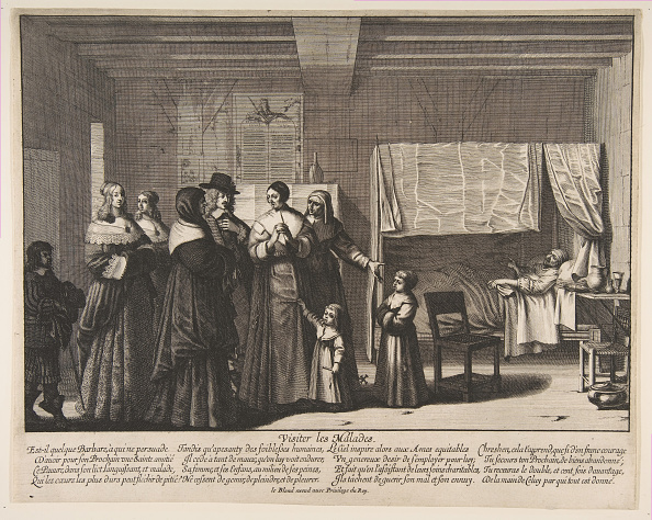 Responsibility「Visiting The Sick Creator: Abraham Bosse」:写真・画像(1)[壁紙.com]
