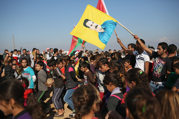 Land「Yazidi Refugees In Syria Celebrate Liberation Of Sinjar From ISIL」:写真・画像(19)[壁紙.com]