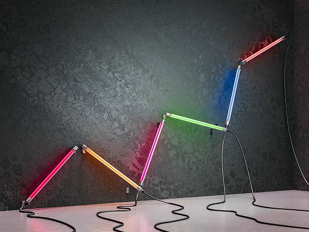 Neon tubes Graph:スマホ壁紙(壁紙.com)
