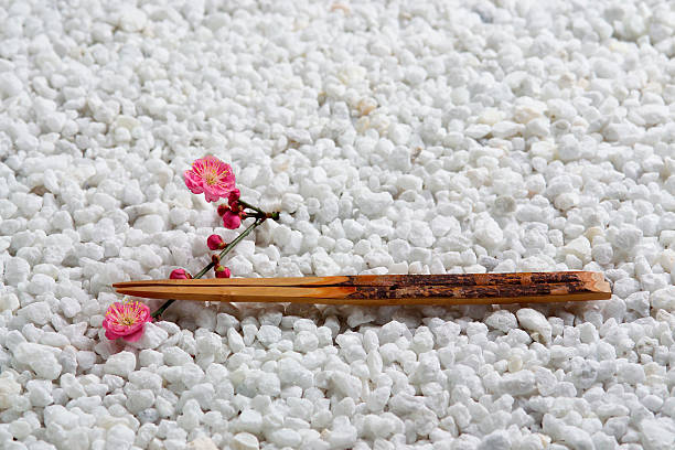 Japanese plum and chopsticks:スマホ壁紙(壁紙.com)
