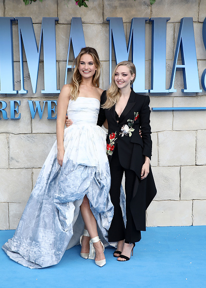 "Amanda Seyfried「""Mamma Mia! Here We Go Again"" - UK Premiere - Red Carpet Arrivals」:写真・画像(14)[壁紙.com]"