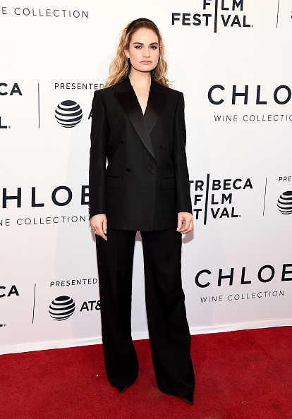"Lily James「""Little Woods"" - 2018 Tribeca Film Festival」:写真・画像(10)[壁紙.com]"