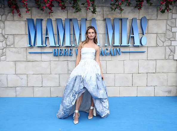 "Lily James「""Mamma Mia! Here We Go Again"" - UK Premiere - Red Carpet Arrivals」:写真・画像(12)[壁紙.com]"