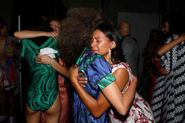 Fashion「First Nations Fashion + Design - Backstage - Afterpay Australian Fashion Week 2021」:写真・画像(17)[壁紙.com]