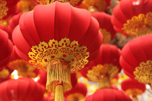Lunar New Year;「Chinese Culture: Festival Red Lanterns」:スマホ壁紙(4)