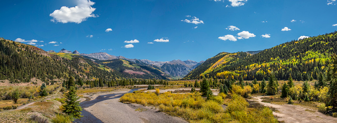 Uncompahgre National Forest「Upper San Miguel River panorama」:スマホ壁紙(10)