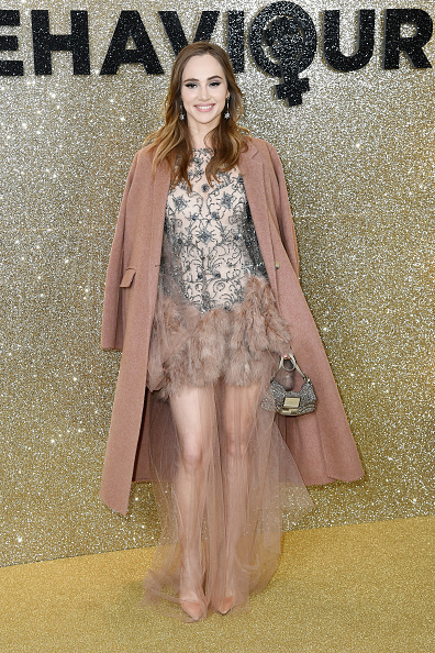 "Nude Colored Shoe「""Misbehaviour"" World Premiere - Red Carpet Arrivals」:写真・画像(5)[壁紙.com]"