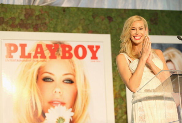 Playboy Magazine「Playboy's 2014 Playmate Of The Year Announcement And Reception」:写真・画像(13)[壁紙.com]