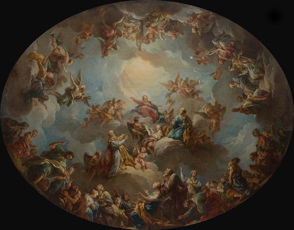 Classical Style「The Glorification Of The Virgin」:写真・画像(0)[壁紙.com]