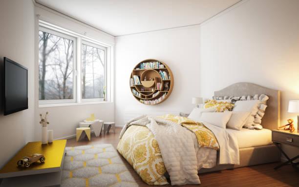Cozy Bedroom:スマホ壁紙(壁紙.com)