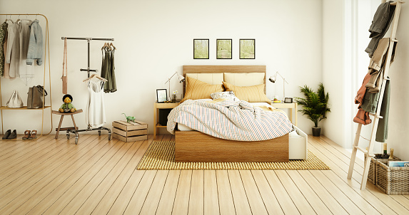 Front View「Cozy Bedroom」:スマホ壁紙(14)