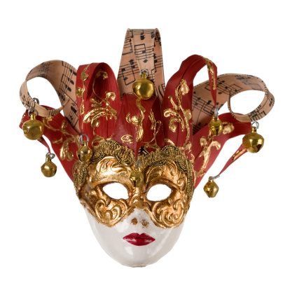Harlequin「Paper mache mask from Rome」:スマホ壁紙(0)