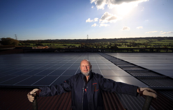 Glastonbury - England「Worthy Farm To Install UK's Largest Private Solar Panel System」:写真・画像(7)[壁紙.com]