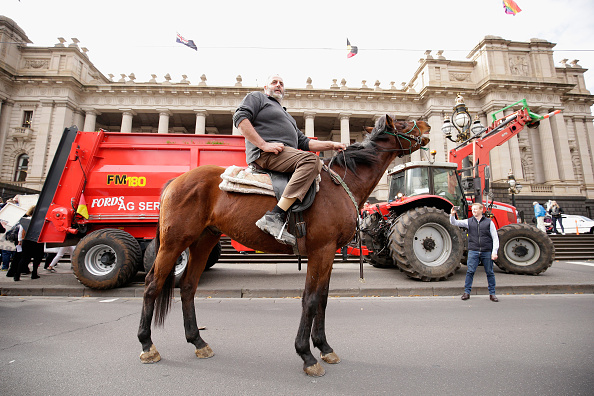 Finance and Economy「Victorian Dairy Farmers Rally For Fairer Milk Prices」:写真・画像(5)[壁紙.com]