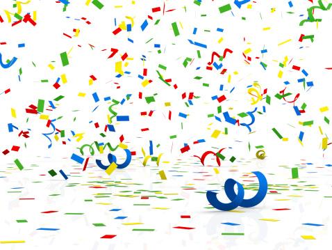 Celebration「コンフェティ」:スマホ壁紙(16)