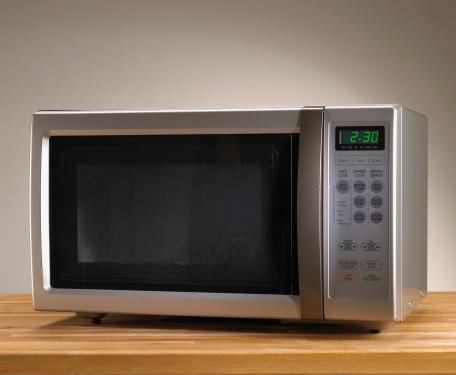 Gray Background「Microwave oven」:スマホ壁紙(5)